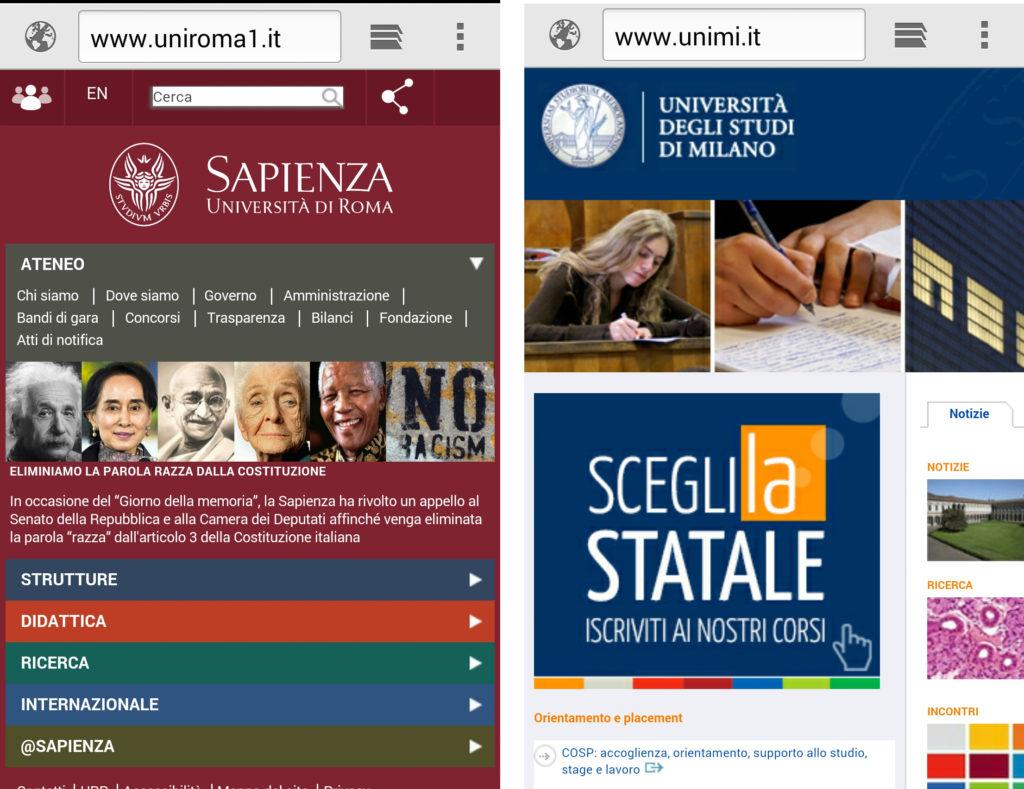 Screenshot_Sapienza_UNIMI1